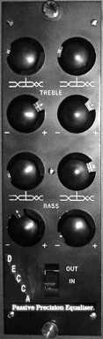 Decca EQ-DP1 Front Panel