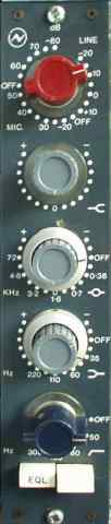 Neve 1073 front