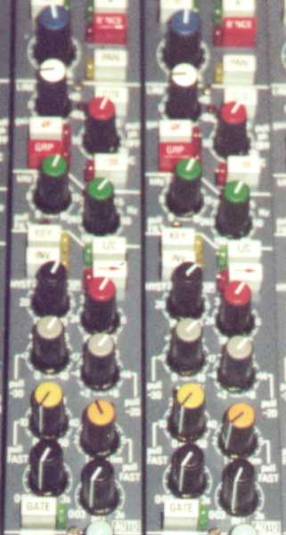 Neve VR Channel Compressor Closeup